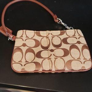 Coach wallet bag